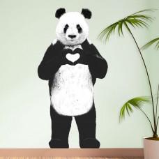 Стикер Стоящая Панда