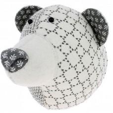 Медведь Grey серый принт