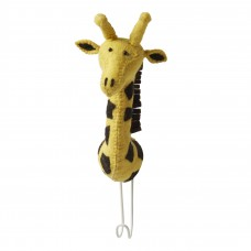 Крючок жираф желтый