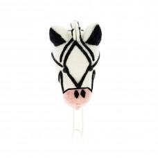 Крючок Зебра Розовый нос