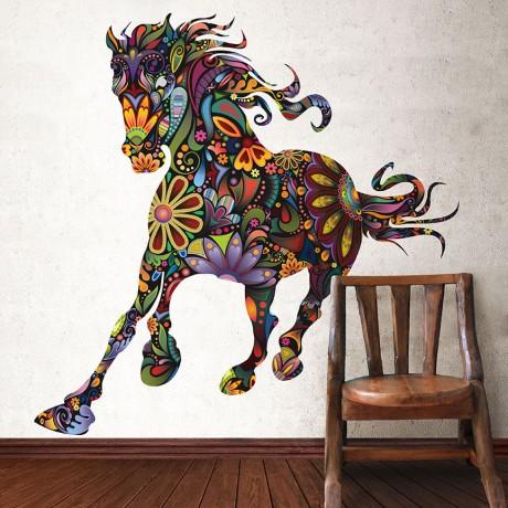 Стикер Дикая лошадь