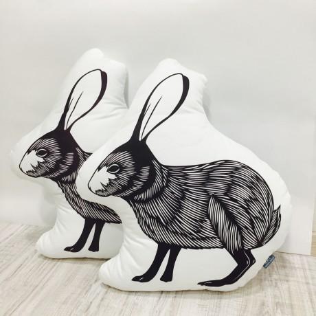 Подушка Заяц дизайн