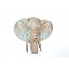 Слон в расцветке Патина