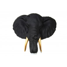 Слон черный золотые бивни
